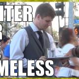 Келнер за бездомници