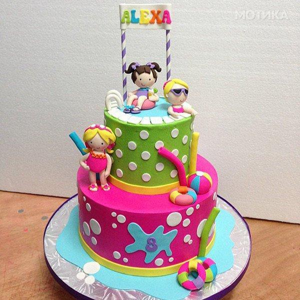 Уникатни детски роденденски торти Мотика