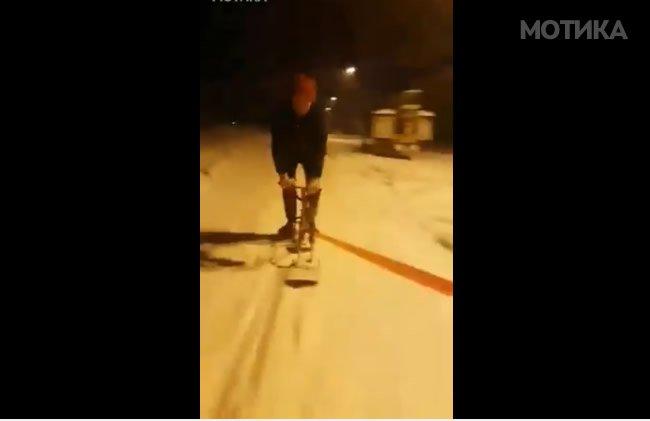 Битолскиот сноубордер се засади  можеби на пролет ќе никне