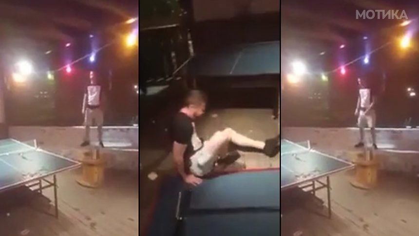 Кечерски скок најдобро се вежба на маса за пинг понг