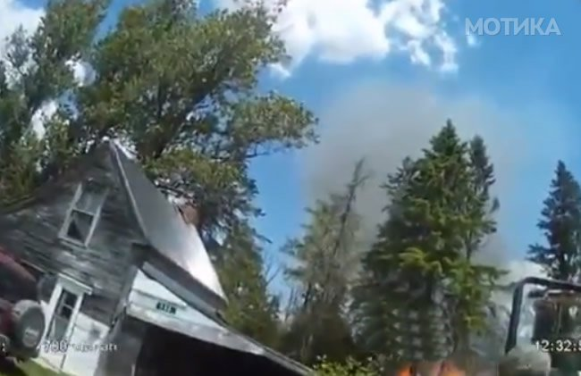 Видео доказ дека пожарникар е една од најопасните професии што постојат