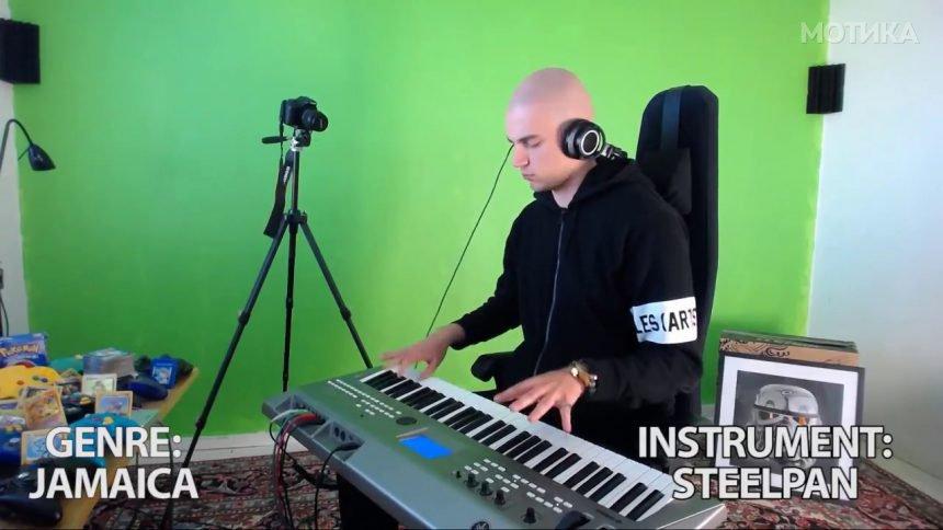 Талент си го тестира новиот синтисајзер со песната Африка од Тото