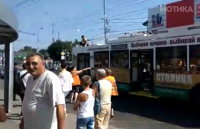 Брлив Русин реши да се вози на тролејбусот без да плати карта