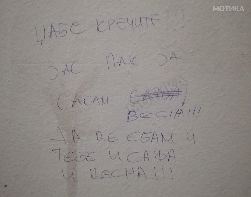 Во тоалетот во една скопска кафана во парк