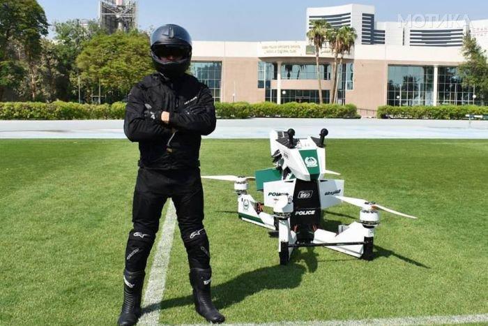 Нема бегање од новите возила на полицијата на Дубаи  Добредојдовте во иднината