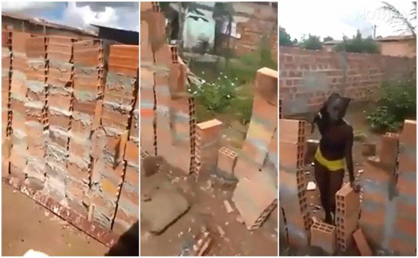 Жената сама си гради ѕид  ПО ЛОГИКА