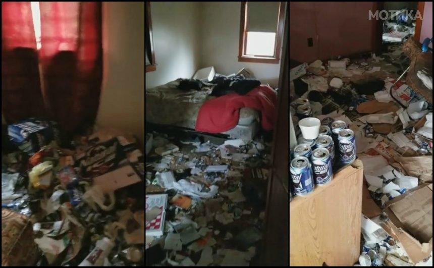 Газдите прв пат влегуваат во станот кој го издавале под кирија на еден голем љубител на пиво