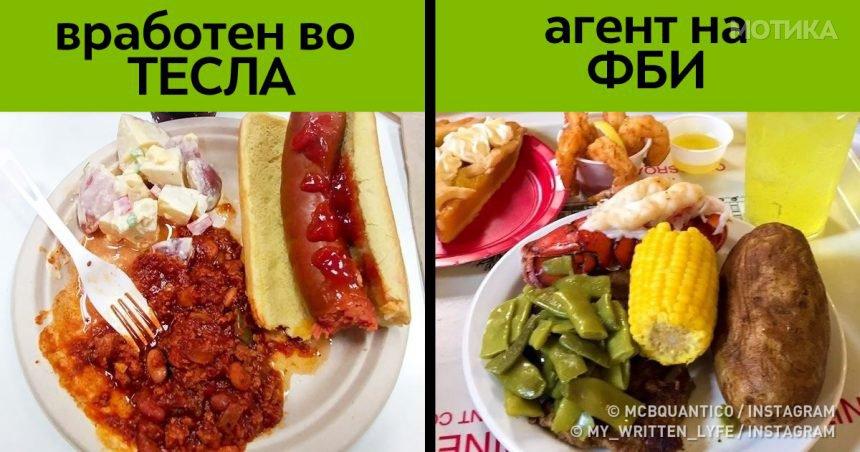 Што јадат за ручек луѓето со различни занимања од целиот свет